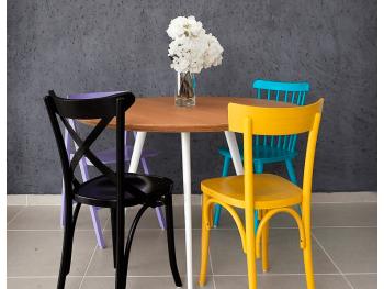Deixe a sua Sala de Jantar colorida!