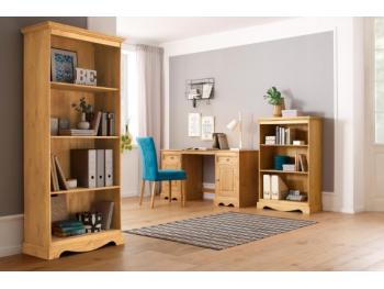 Home Office elegante com os móveis da linha Melissa