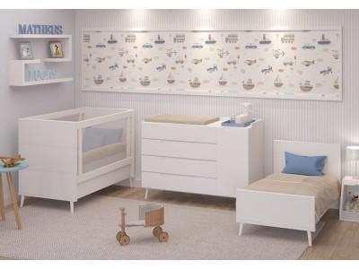 Cama de babá / Sofa cama - Linha Fit