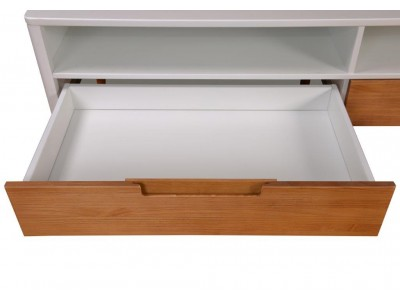 Rack de TV branco | SCANDIAN