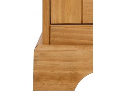 Balcão buffet de madeira com 4 portas e 2 gavetas em cera | Melissa