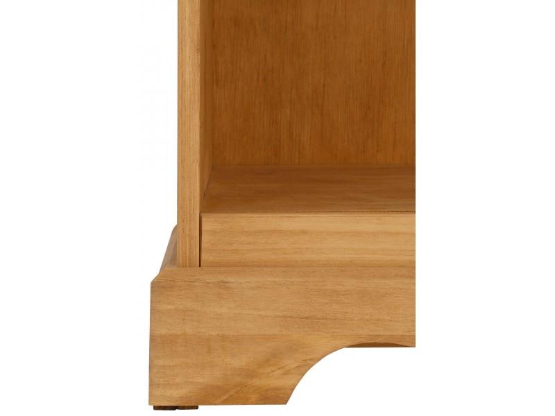 Estante de madeira em cera / Melissa