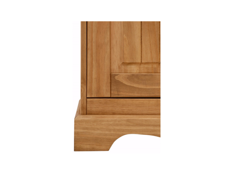 Balcão de madeira em cera / Melissa