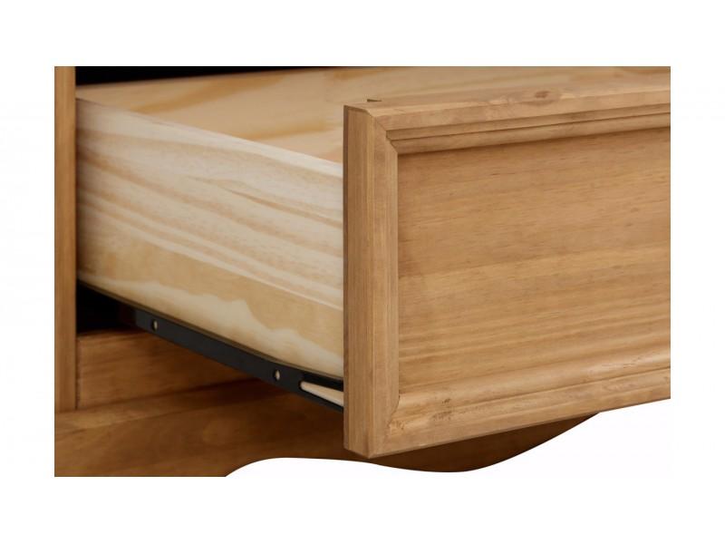 Rack de madeira rustica com acabamento em cera 160 / Melissa