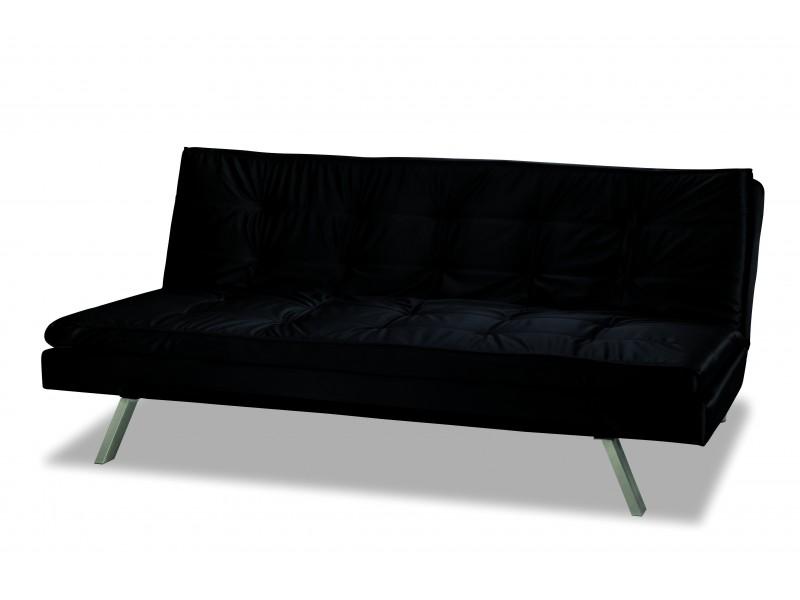 Sofa click clack beta black for Sofa cama de click clack