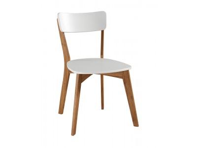 Scandian / 1 Cadeira de Madeira com assento e encosto em MDF