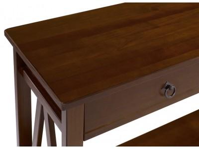 Aparador buffet de madeira maciça acabamento pinhão | Titian